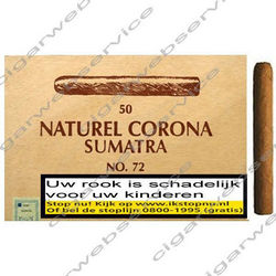 Sumatra Corona Naturel No 72