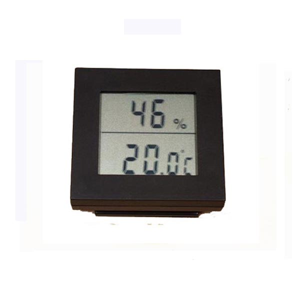hygro and thermometer digital - black